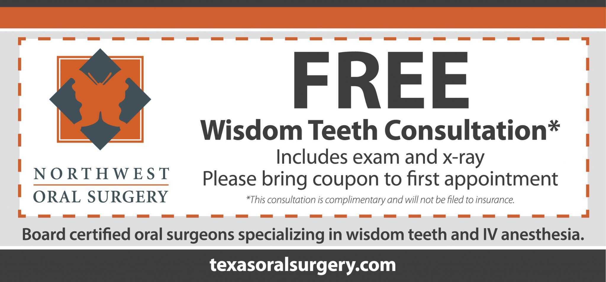 coupon - Northwest Oral & Maxillofacial Surgery
